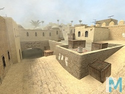 серверы Counter Strike Source с картой de_dust2
